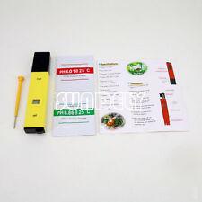 Numérique ph mètre testeur piscine eau spa aquarium mesure stylo niveau de ph test kit uk