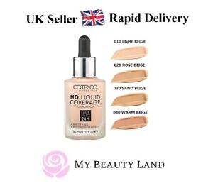 Catrice HD Liquid Coverage Foundation, Genuine, Sealed 30ml – RAPID Delivery