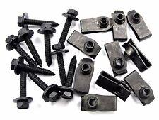 Chevy Body Bolts & U-Nuts- M6-1.0mm Thread- 10mm Hex- Qty.10 ea.- #145