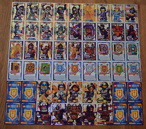 Lego® Nexo Knights™ Trading Card Game Foil Folie & Ultra Karten aussuchen