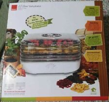 NEW Ronco EZ Store Turbo 5 Tray Food Dehydrator