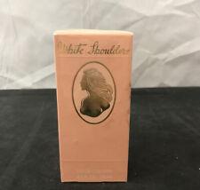White Shoulders 4.5 oz Perfume for Women Eau de Cologne Spray New In Sealed Box