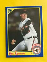 1990 CURT Schilling ROOKIE SCORE CARD #581 Vintage Baseball Baltimore Orioles