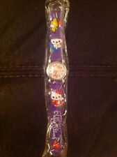 Hello Kitty Childs Wristwatch Brand New Purple Xmas Stocking Filler