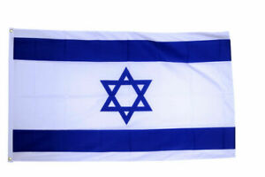 5' x 3' Israel National Flag Star of David Jewish Israeli Country Flags Banner