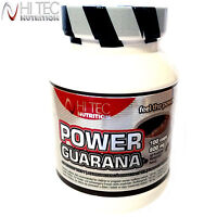 Power Guarana 100/200Caps. Energy Endurance Focus Stamina Caffeine Pre-Workout