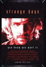 STRANGE DAYS CineMasterpieces ORIGINAL MOVIE POSTER VIRTUAL REALITY OCULUS RIFT