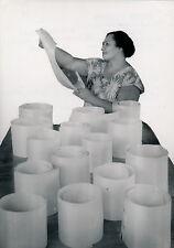 TAHITI c. 1940 - Fabrication de Chapeaux Fibres de Pandanus - T 79