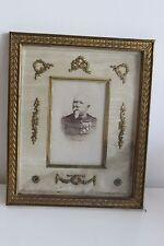 PHOTO Militaire OFFICIER LEGION HONNEUR CAMILLE BRISSET XIXe Cadre Style Empire