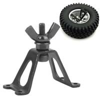 RC 1:10 Metal Rear Spare Tire Rack Wheel Holder for Rock Crawler Axial SCX10 D90
