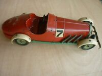 MARKLIN 1101 MERCEDES SKK ORIGINAL1936 COURSE TÔLE RACE TIN TOY CAR NOT 1103 RE