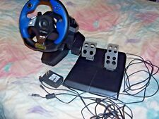 LOGITECH DRIVING FORCE WHEEL+PEDALS PS2/PS3