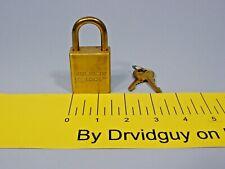 Master Lock 5340 01 346 7462 5 Pin Brass Military Spec Padlock