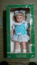 "Zapf Creations Balica Girl Doll 18"" Blonde Hair Blue eyes Vintage 1986"