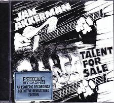 JAN AKKERMAN talent for sale Remastered CD NEU OVP/Sealed