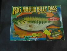 Vintage Big Mouth Billy Bass Singing Sensation 1998  In open box