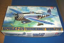 Tamiya 1/48 P-47D Thunderbolt Bubble Top #61090 Plastic Model Kit