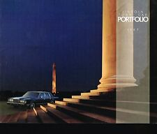 1987 LINCOLN TOWN CAR Brochure / Catalog: SIGNATURE SERIES,CARTIER