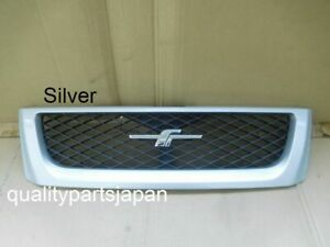 Subaru Forester SF5 Front Grill Grille Chrome Emblem SF9 1997-2000 Silver