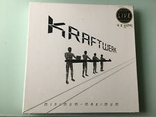 4 LP German Version  BOX  2005 New & Sealed! Kraftwerk Minimum Maximum