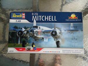 MAQUETTE NEUVE AVION BOEING B-25J MITCHELL FLYING BULLS REVELL 1/48