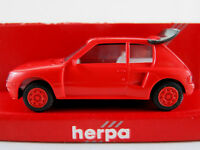Herpa 2069 Peugeot 205 Turbo 16V (1984) in orangerot 1:87/H0 NEU/OVP