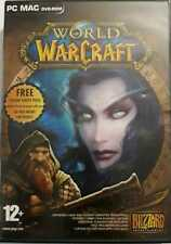 World of Warcraft PC MAC CD-ROM GAMES