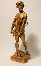 Superbe bronze 1900 de Raoul Larche, signé et numéroté fonte originale Siot