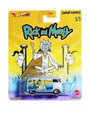 Rick and Morty Hot Wheels Premium Volkswagen T1 Panel Bus Pop Culture 2020 New