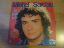 MICHEL SARDOU SES GRANDS SUCCES TOURNEE ALLEMANDE   ALBUM 33T DISQUE VINYL