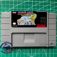Mario & Luigi: Starlight Island Adventure  SNES Video Game  USA version
