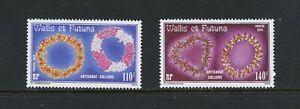C271  Wallis & Futuna  1979  flora flower neckless   2v.     MNH
