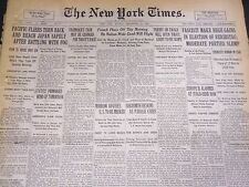 1930 SEPTEMBER 15 NEW YORK TIMES - GATTY & BROMLEY TURN BACK TO JAPAN - NT 4979