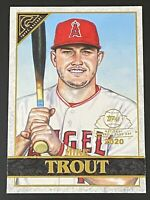 MIKE TROUT 2020 Topps Chrome SP Gallery Preview