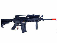 Airsoft Rifle M4A1 BY-051 Metal Gearbox RIS Full Auto AEG  390 FPS Black 6mm BBs