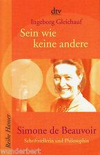 Simone de BEAUVOIR - SER como KEINE otros - Ingeborg LAZO tb (2007)