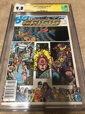 Crisis on Infinite Earths 11 CGC SS 9.8 George Perez Harbinger 1986