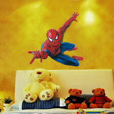 DIY 3D Spider Man Removable Vinyl Wall Decal Stickers Kids Room Home Decor art