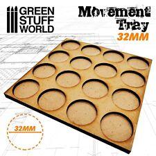 MDF Movement Trays 4x4 - 16 x 32mm - Warhammer Dioramas Scenery GSW