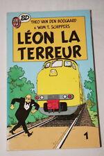 LEON LA TERREUR TOME 1  BD VAN DEN BOOGAARD SCHIPPERS 1987