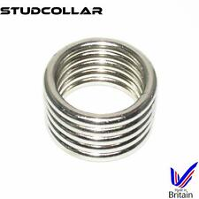 STUDCOLLAR-SUPERMAX5 Metal Penis Erection/Enhancing Collars - 3 choices !!