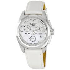 Tissot PRC 100 Chronograph Silver Dial Ladies Watch T008.217.16.111.00