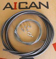Aican REACTION ROAD bike bicycle BRAKE cable housing set kit ASHIMA, Black