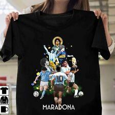 Diego Maradona T-shirt Argentina 10 Soccer Legend RIP Chrismas Tree Gift For Fan