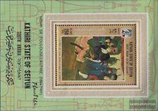 aden - kathiri state Bloc 9a (complète edition) neuf avec gomme originale 1967 P