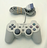 Official Sony Playstation 1 PS1 PSOne White Dualshock Controller Control Pad