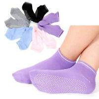 Women Yoga Socks Non Slip Fitness Warm Gym Dance Sport Exercise Cotton Sock FE
