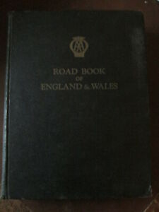 AA road book of England and wales.Automobile association. RAC.AA book