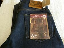 NEW Mens Kojima JEANS RNB-109 MADE IN JAPAN 32 x 29.5 REG Straight 23 OZ DENIM