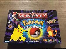 Pokemon Monopoly Collectors Edition 100% Complete